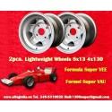 2 pcs.  Formula Super Vee 8x13 ET-13.5 4x130 wheels