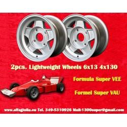 1 pz. llanta Formula Super Vee 6x13 ET0 4x130