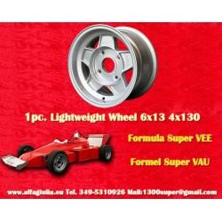 1 pz. llanta Formula Super Vee 6x13 ET3.5 4x130