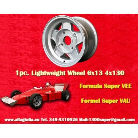 1 pc. Formula Super Vee 6x13 ET3.5 4x130 wheel