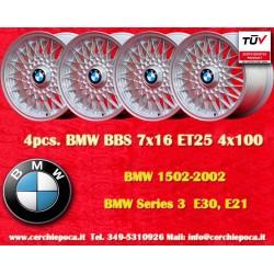 BMW BBS style 7x16 ET25 4x100