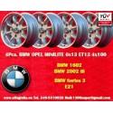 4 pcs. llantas BMW Minilite 6x13 ET13 4x100