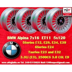 4 pcs. Cerchio BMW Alpina 7x16 ET11 5x120