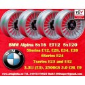 4 pcs. Jantes BMW  Alpina 8x16 ET24 5x120