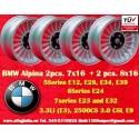 Jantes BMW  Alpina 2 pcs. 7x16 ET11 + 2 pcs. 8x16 ET24
