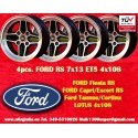 4 pcs. Ford RS 7x13 ET5 4x108 wheels