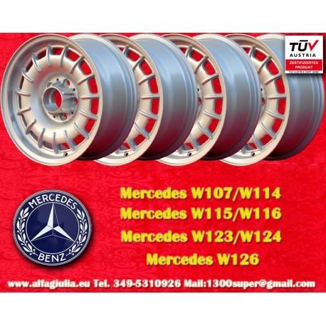 4 pcs. Mercedes Benz Barock Bundt Cake 7x15 ET23 5x112