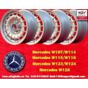 4 pcs. Mercedes Benz Barock Bundt Cake 7x15 ET23 5x112 wheels