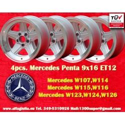 Mercedes Benz Penta 9x16 ET12 5x112
