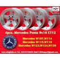 4 pcs. llantas  Mercedes Benz Penta 9x16 ET12 5x112