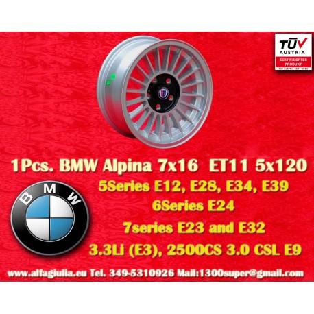 Llantas BMW  Alpina 7x16 ET11 5x120