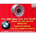 1 Stk. Felge BMW  Alpina 7x16 ET11 5x120