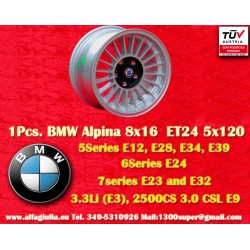 1 pc. BMW  Alpina 8x16 ET24 5x120 wheel