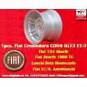 1 pc. jante Fiat Cromodora CD80 8x13 ET-3 4x98