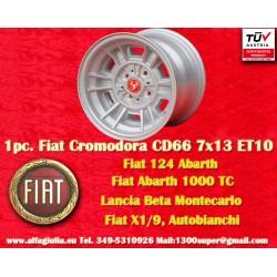 1 pz. llanta Fiat Cromodora CD66 7x13 ET10 4x98