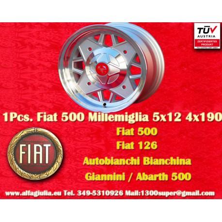 Millemiglia 5x12 ET25 4x190