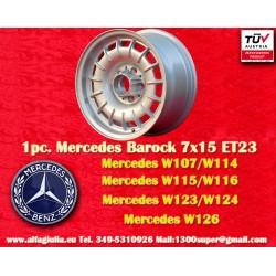 1 pc. cerchio Mercedes Benz Barock Bundt Cake 7x15 ET23 5x112