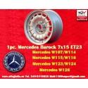 1 pc. Mercedes Benz Barock Bundt Cake 7x15 ET23 5x112 wheel