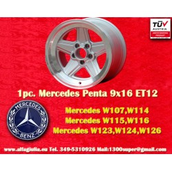 1 pc. Mercedes Benz Penta 9x16 ET12 5x112 wheel