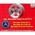 1 pc. Mercedes Benz Penta 8x16 ET11 5x112 wheel