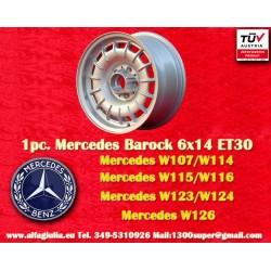 Mercedes Benz Barock Bundt Cake 6x14 ET30 5x112