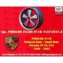 1 pc. Fuchs Porsche RSR 911R Small Body 7x15 ET47.4 wheel