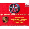 1 pz. llanta Fuchs Porsche RSR 911R Small Body 7x15 ET47.4