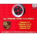 1 pc. Porsche 911 Fuchs 7x15 ET23.3 5x130 wheel
