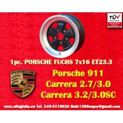 1 pc. Porsche 911 Fuchs 7x16 ET23.3 5x130 wheel