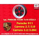 1 pc. cerchio Porsche 911 Fuchs 7x16 ET23.3 5x130