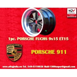 1 pc. Porsche 911 Fuchs 9x15 ET15 5x130 wheel