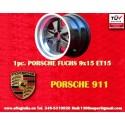 1 pc. cerchio Porsche 911 Fuchs 9x15 ET15 5x130