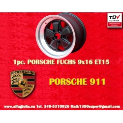1 pc. Porsche 911 Fuchs 9x16 ET15 5x130w wheel