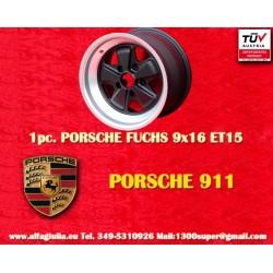1 Stk. Felge Porsche 911 Fuchs 9x16 ET15 5x130