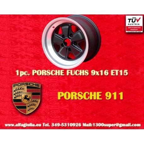 Porsche 911 Fuchs 9x16 ET15 5x130