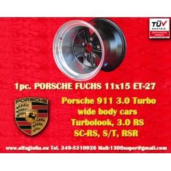 1 pz. llanta Porsche 911 11x15R ET-27 5x130