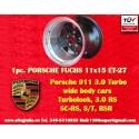 1 pc. cerchio Porsche 911 11x15R ET-27 5x130