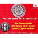 1 cerchio Alfa Romeo 6x14 ET30 4x108
