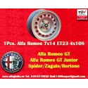 1 Stk. Felge Alfa Romeo 7x14 ET23 4x108