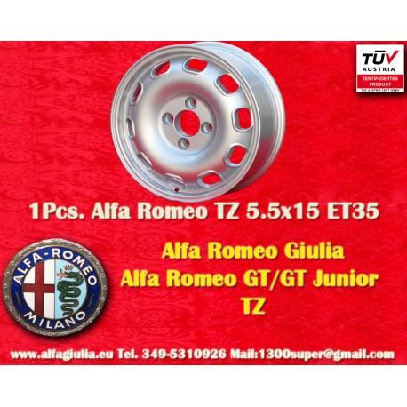 Alfa Romeo Giulia TI/TZ Giulietta 5.5x15 ET35 4x108 wheel