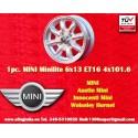 1 pz. llanta Mini 6x13 ET16 4x101.6