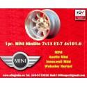 1 Stk. Felge Mini 7x13 ET-7 4x101.6