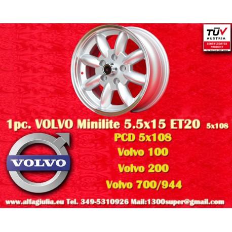 Volvo  Minilite 5.5x15 ET20 5x108