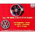 1 pz. llanta Volkswagen  BRM 5.5x15 5x205 ET10