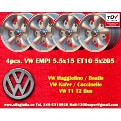 Volkswagen  EMPI 5.5x15 5x205 ET10