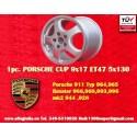 1 pz. llanta Porsche CUP 9x17 ET47 5x130