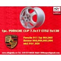 1 Stk. Felge Porsche CUP 7.5x17 ET52 5x130