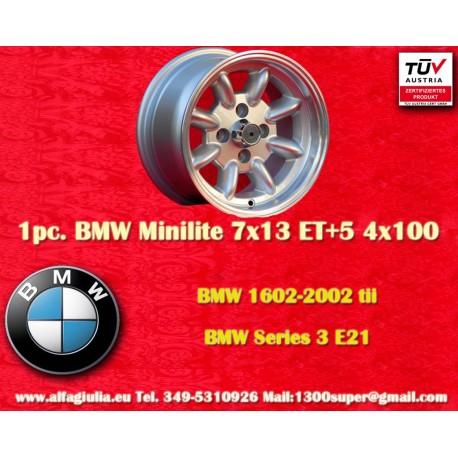 BMW Minilite 7x13 ET+5 4x100