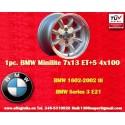 1 pc. jante BMW Minilite 7x13 ET+5 4x100
