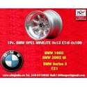 1 pc. jante BMW Minilite 8x13 ET-6 4x100